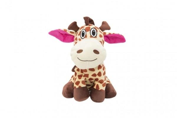 Žirafa sedící plyš
