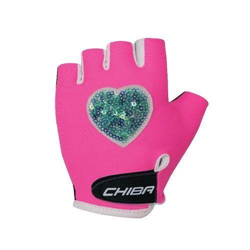 [3050518_43-S] Cyklistické rukavice pro děti COOL KIDS Srdce (Veľkosť S).jpg