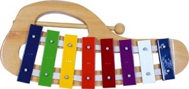 xylofon dřevo/kov