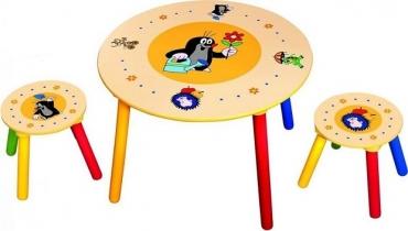 stolek sedátka Krtek