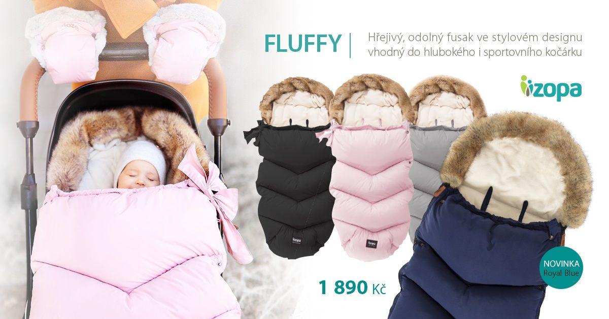 ZOPA zimní fusak Fluffy