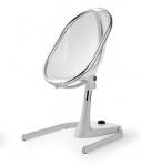 židlička chrom průhledná