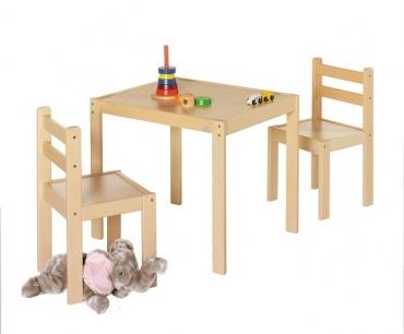 set stolek+2židle