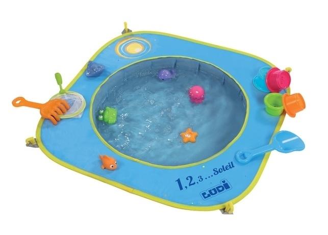 bazén na pláž
