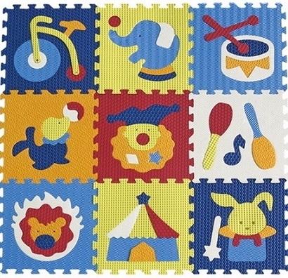 pěnové puzzle cirkus