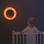 Zazu nástěnné světlo - ilustrační foto