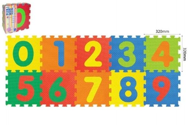 pěnové puzzle číslic