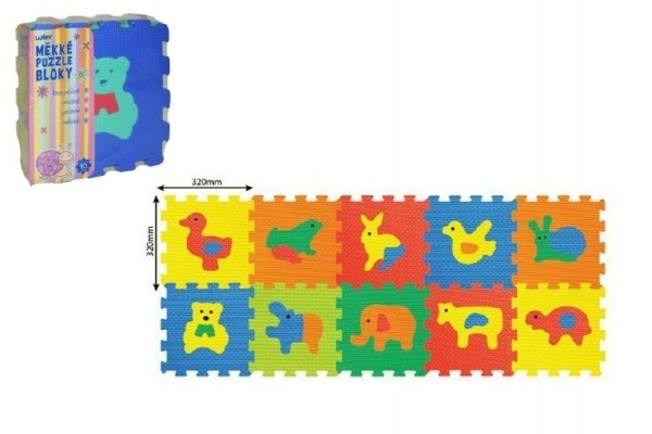 puzzle zvířata