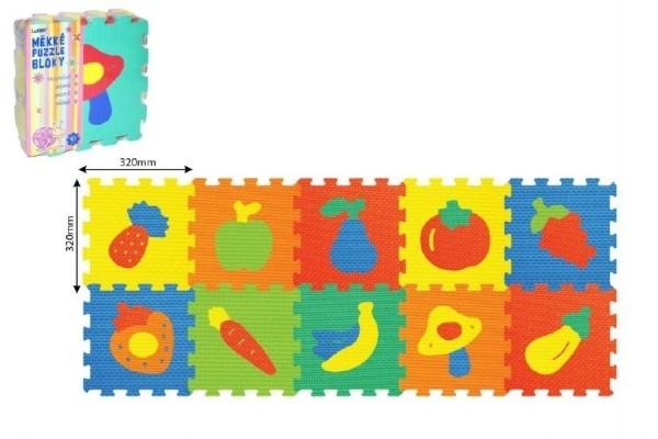 puzzle ovoce