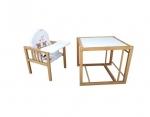 Viktoria - rozložená na stoleček a židličku