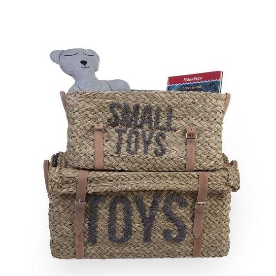 Dětská zavazadla, koše na hračky